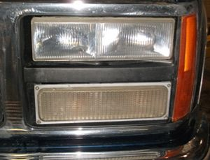 After headlight
